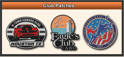 Custom Club Patches